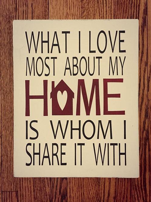I Love My Home