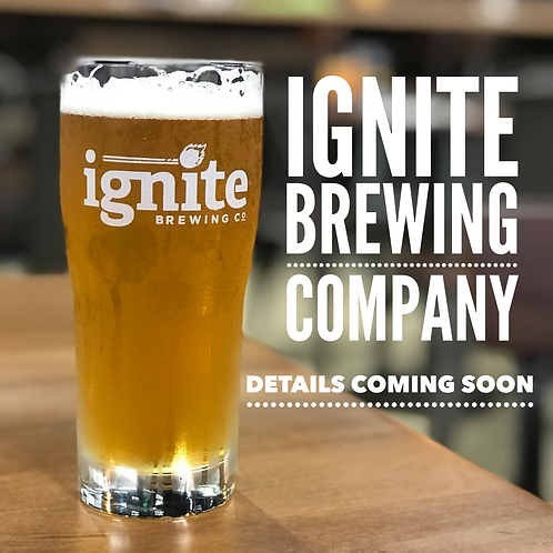 November 8th at Ignite Brewing Company