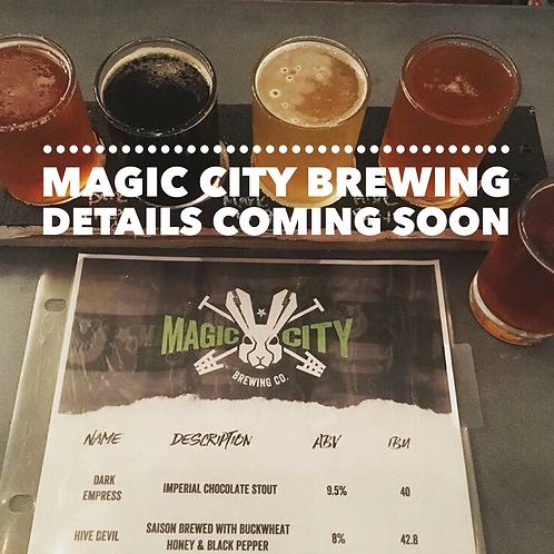 July 29th at Magic City Brewing