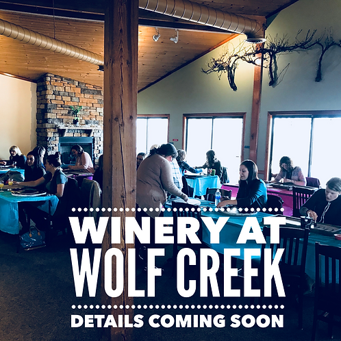 May 9th at Winery at Wolf Creek