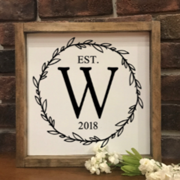 *10x10 Framed Farmhouse Signs*