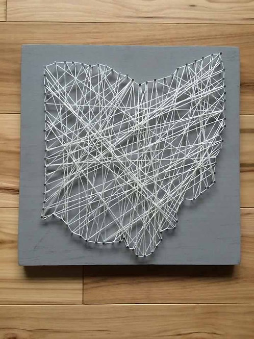 Ohio String-Art