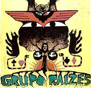 Capa vinil do Grupo Raízes, gravado em 1973. Primeiro disco de Tino Gomes.