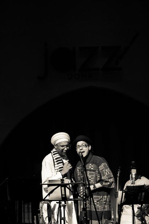 Omar Sosa & Leandro Saint-Hill