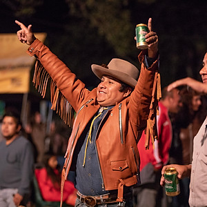 Country Music Lovers Enjoying the Festival