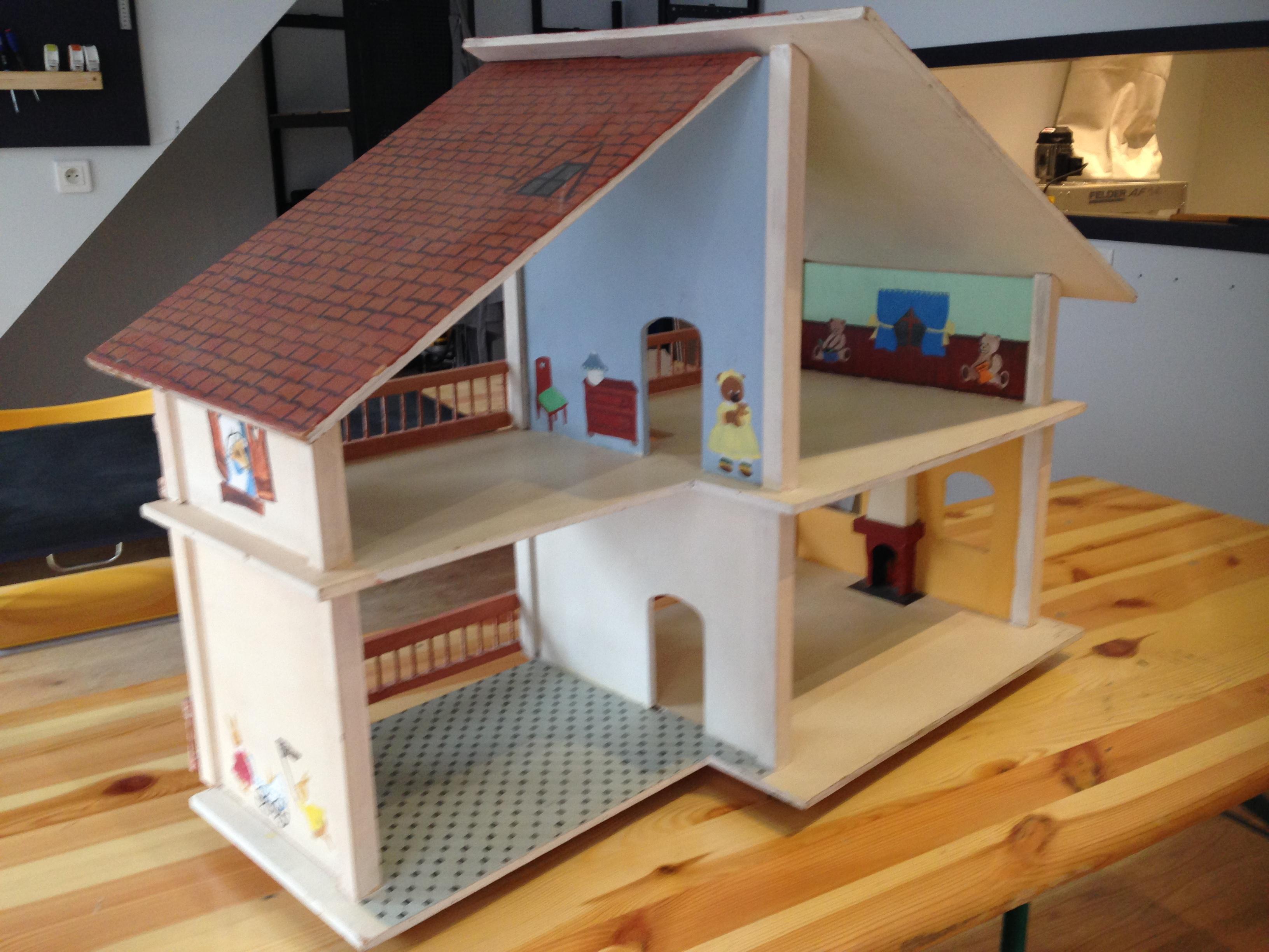 Stage DIY maison de poupée