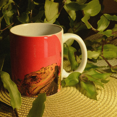Caneca Iguana (Leia&Medite)