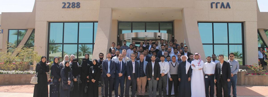 اجتماع القسم في أرامكو السعودية - الظهران