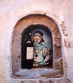 Wine Doors of Florence by Robbin Gheesling