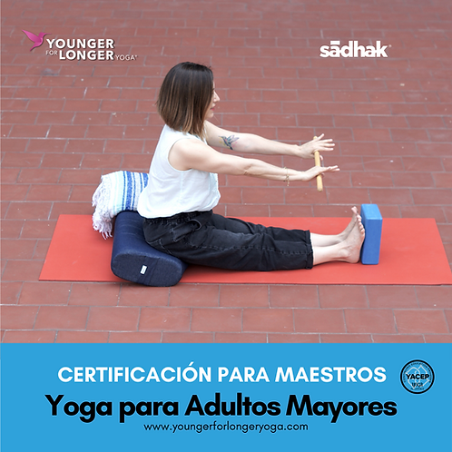 Certificacion Online YOUNGER FOR LONGER YOGA®