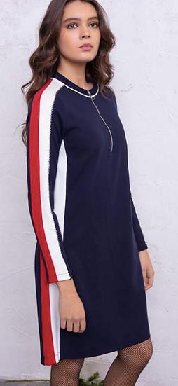 Robe sportswear avec détails