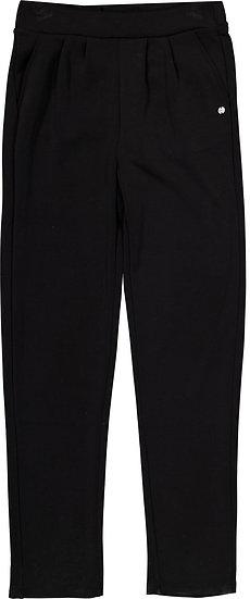 Pantalon noir cupro fluide