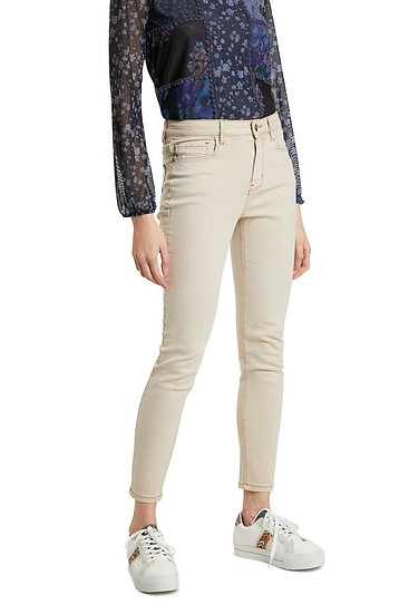 Jean couleur beige