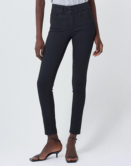 Pantalon noir skinny doux au toucher Push In Secret