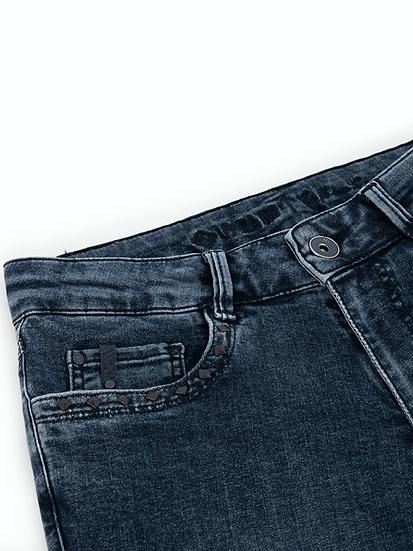 Jean skinny taille haute Para Mi détails aux poches