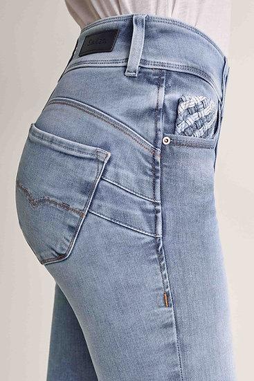 Jean secret skinny taille haute