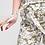 Thumbnail: Short en tissu fluide imprimé olive