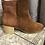 Thumbnail: Boots en daim camel