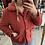 Thumbnail: Manteau bouclettes couleur rhubarbe 🧥