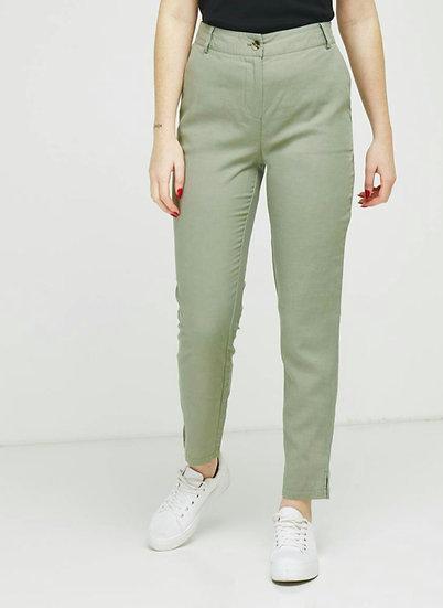 Pantalon en lyocell et lin