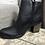 Thumbnail: Boots en cuir noir