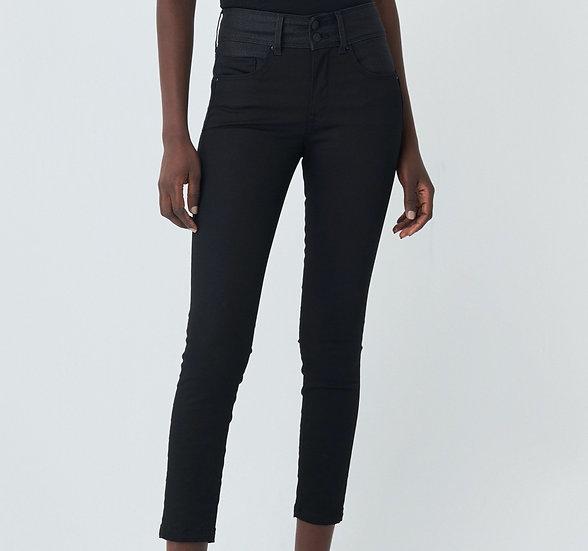 Pantalon Push In Secret true black avec des détails