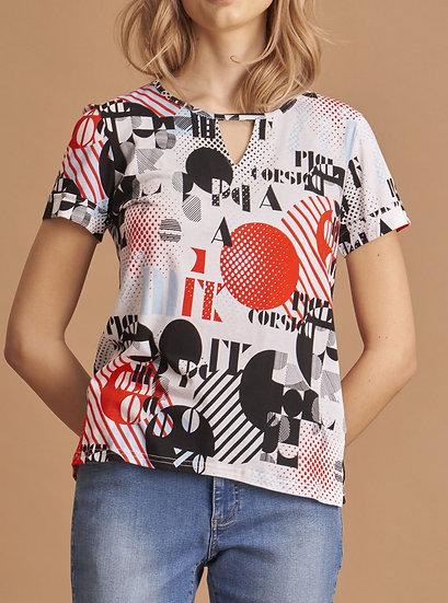 Tee-shirt multicolor