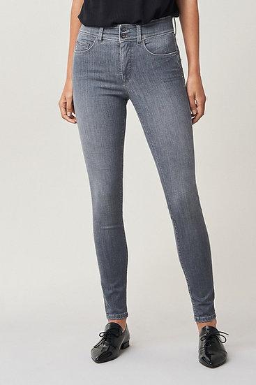 Pantalon skinny push in secret gris
