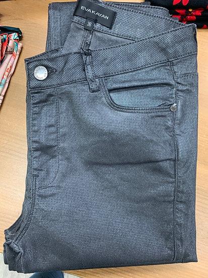 Pantalon titanium métallisé