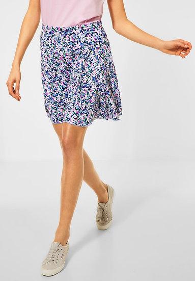 Mini-jupe cosy avec imprimé