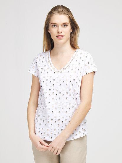 Tee-shirt imprimé en coton