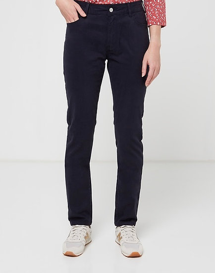 Pantalon taille haute bleu marine 👖