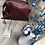 Thumbnail: Petit sac à main ou bandoulière Bordeaux 👜