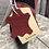 Thumbnail: Boots rouge en cuir Salsa