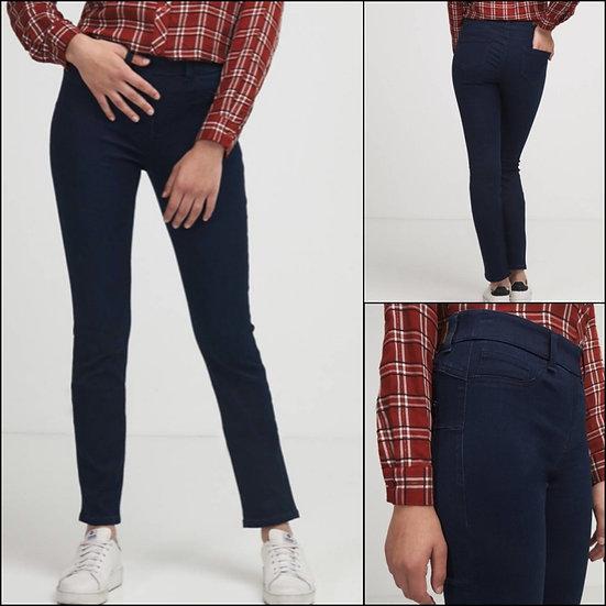 Jegging jean taille haute