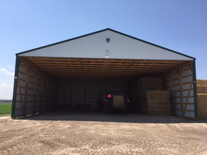 Anderstorm Hay Bale Storage