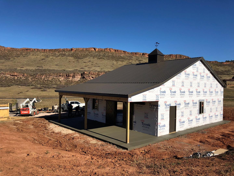 Grissom Cabin Concrete