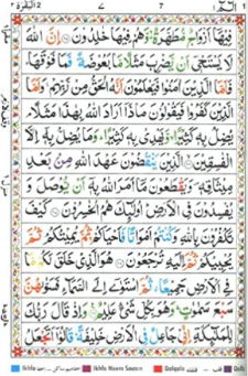 Holy Quran,The (Color Coded Tajweed Rules in English) (H/C)