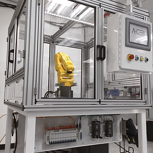 Fanuc Robot in Automation cell