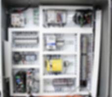 control box with Allen Bradley PLC