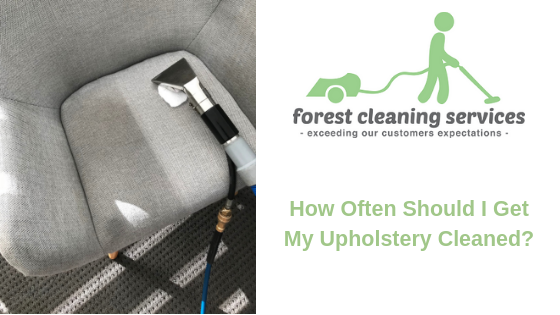 How Often Should I Get My Upholstery Cleaned?