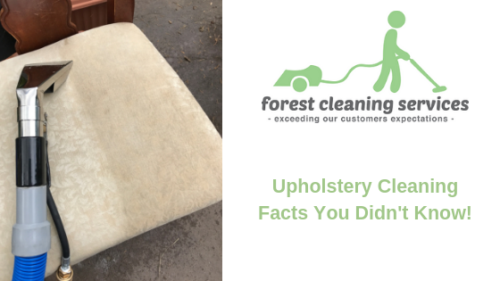 Upholstery Cleaning Facts You Didn't Know