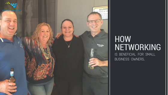 How networking is beneficial for small business owners.