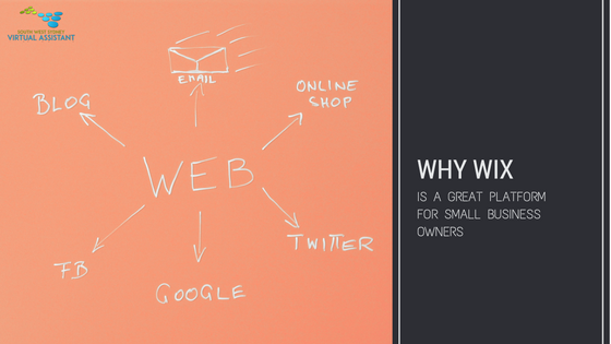 Why Wix is a great platform for small business owners!