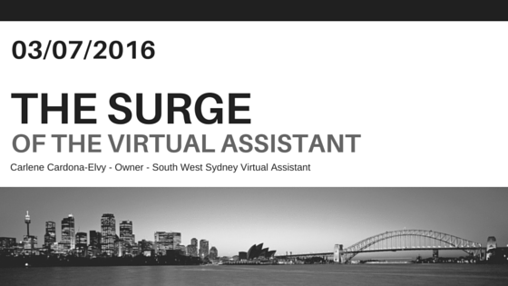 The Surge of the Virtual Assistant