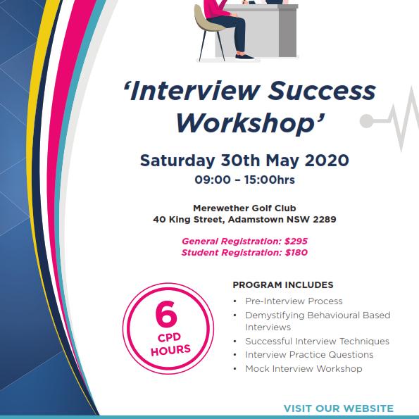 Interview Success Workshop