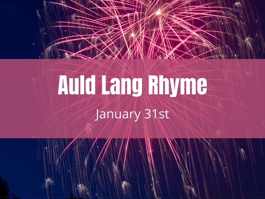 Auld Lang Rhyme - Poetry Contest