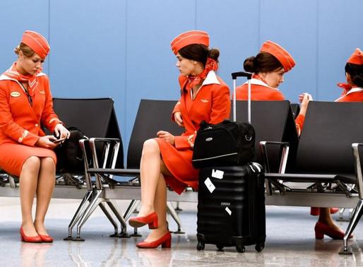 """Стюардессы """"Аэрофлота"""" бастуют? Десятки рейсов могут оказаться под угрозой срыва"""