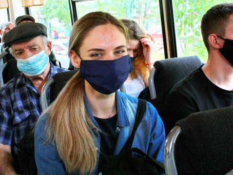 Всеобщий масочный режим начал действовать по всей России
