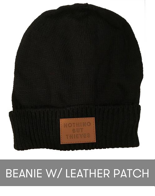 NBT Beanie w/ Leather Patch